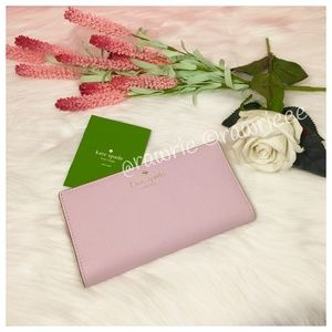 New Kate Spade Mikas Pond leather Stacy Wallet